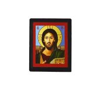 """Иконка погребальная пластиковая в руку """"Иисус"""""""