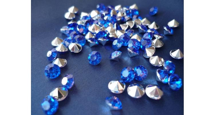 "SD-08 Стразы ""Diamante"" цветные диаметр 8 мм"