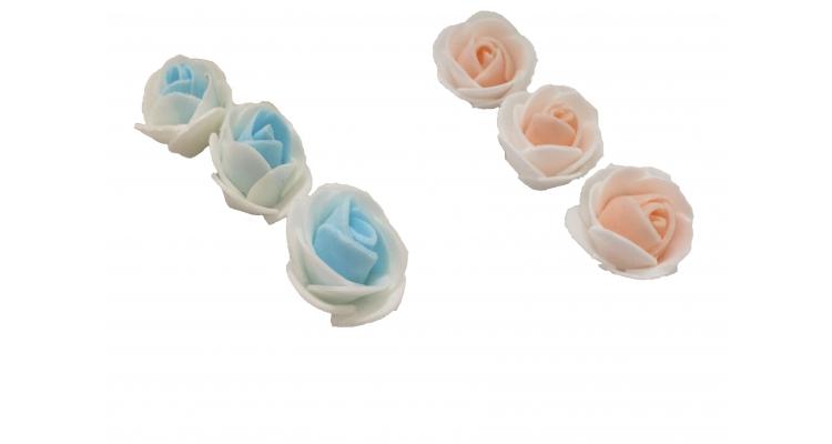 ЦЛ-30 Бутон розы латексный 2-х цветный. 30мм