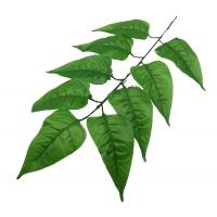 100_420 Ветка Сирени 9 листов, дл.45 см