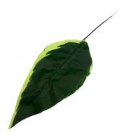 100_426 Лист диффенбахии,  дл. 40 см., цв. зеленый