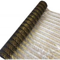 01/1-BG черный с золотом, 6 см.