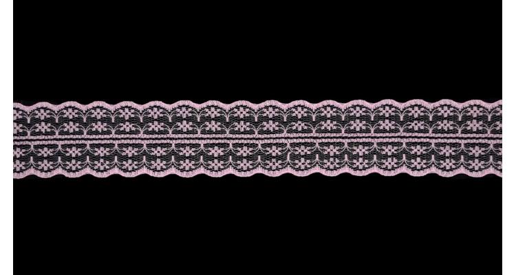 Кружево 133 Розовый