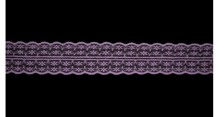 Кружево 133 фиолетовый