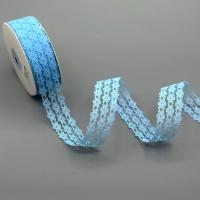 100-3 Кружево, ш. 2,5 см., цв. голубой