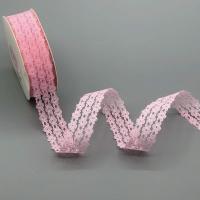 100-3 Кружево, ш. 2,5 см., цв. розовый