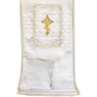 7520 Комплект Стежка атлас Крест в квадрате Золото