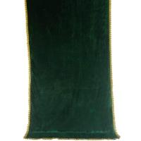 7701 Покрывало мусульманский Бархат зеленый
