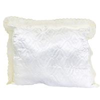 Подушка термостежка с кружевом