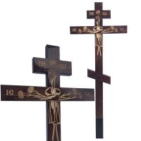 Крест Гвоздика, сосна, темный