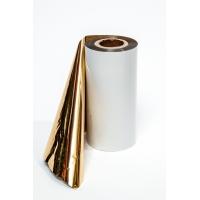 Риббон (красящая лента) 104 мм*200 м золото