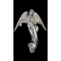 Термоаппликация Ангел Серебро