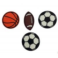 Термоаппликация Набор мячей 6х6 см