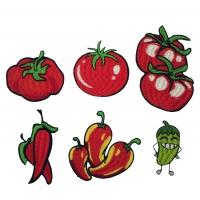 Термоаппликация Набор Овощи