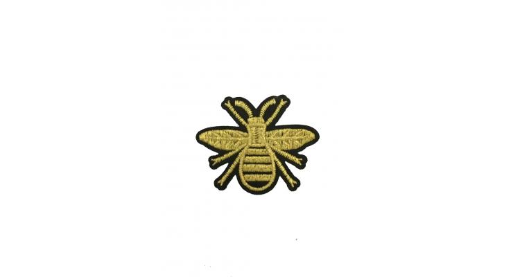 Термоаппликация  Пчела Гуччи 6,5х5 см