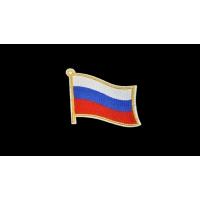 2655 Термоаппликация Флаг России, h-7,5 см