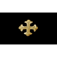 3580 Термоаппликация Крест Иерусалимский
