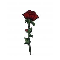 "Термоаппликация ""Цветок роза"" бол. h-30"