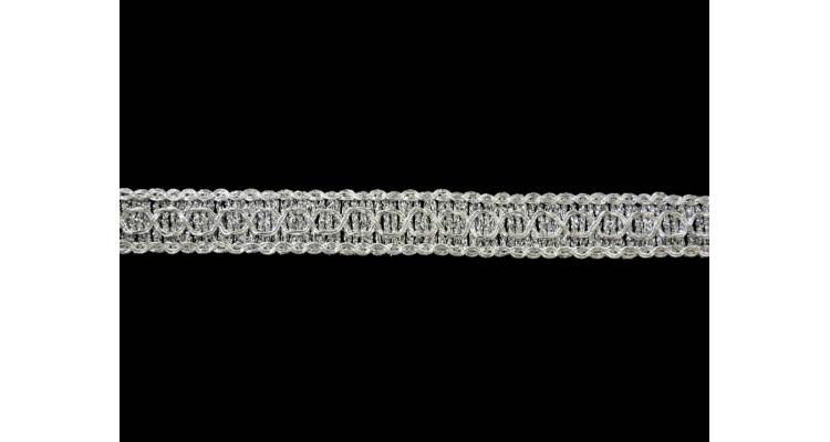 Тесьма 7039 серебро