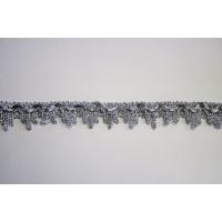 Тесьма 7386 серебро