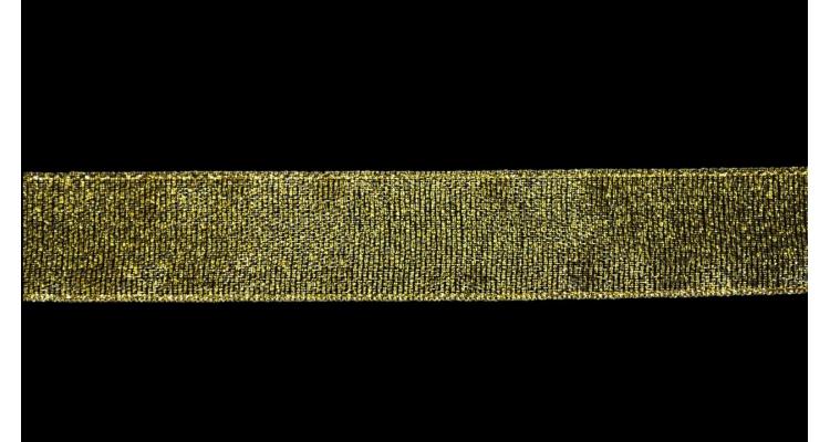 Лента металлизированная 2,5 см