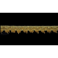 Тесьма 2040 золото 2,5 см