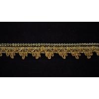 Тесьма 3038 золото 3 см