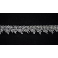Тесьма 3056 серебро 3 см