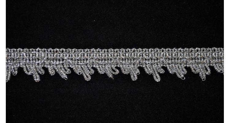 Тесьма 3056 серебро
