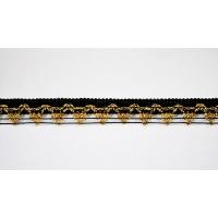 Тесьма 106 черный 2,5 см