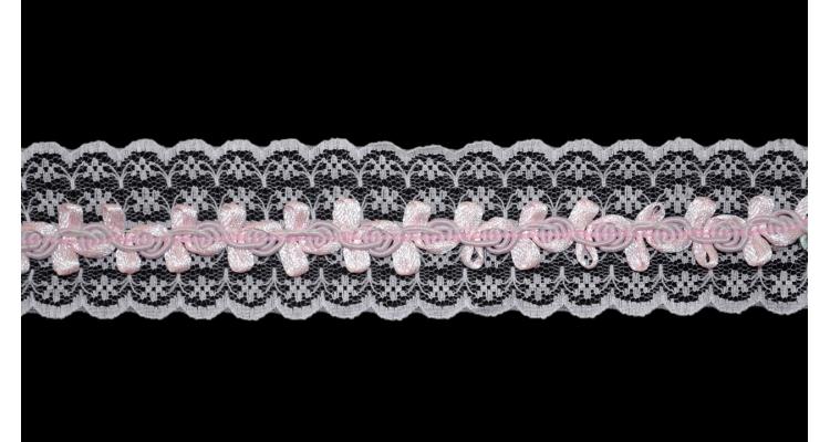 Рюш 3560 Розовый