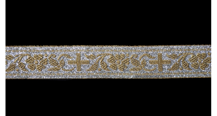 Галун церковный, ш. 2,5 см.
