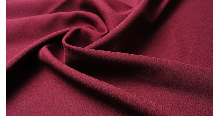 Габардин Бордовый